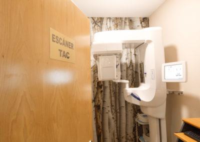 Sala de Radiografia y TAC