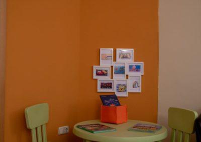 Sala de espera dedicada a los más pequeños